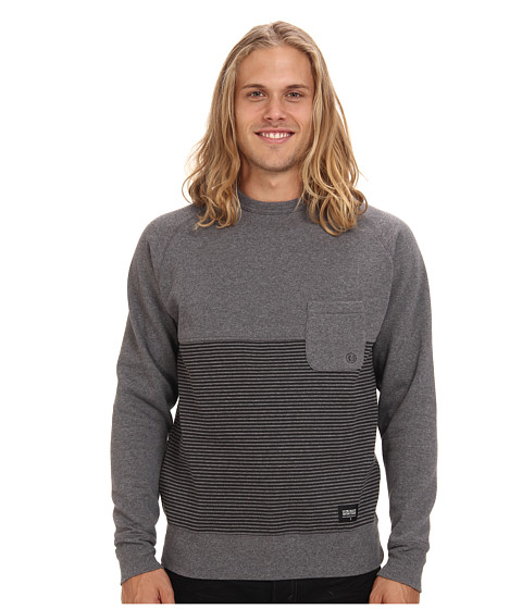 Lifetime Collective - Babel Stripe Sweatshirt (Grey CB) Men