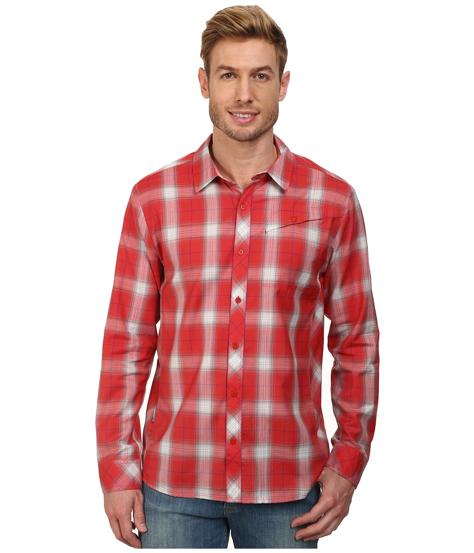 Icebreaker - Departure L/S Shirt (Clay) Men's Long Sleeve Button Up