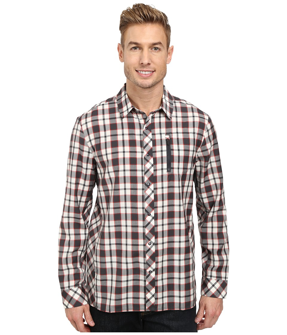 Icebreaker - Compass L/S Shirt (Monsoon) Men's Long Sleeve Button Up