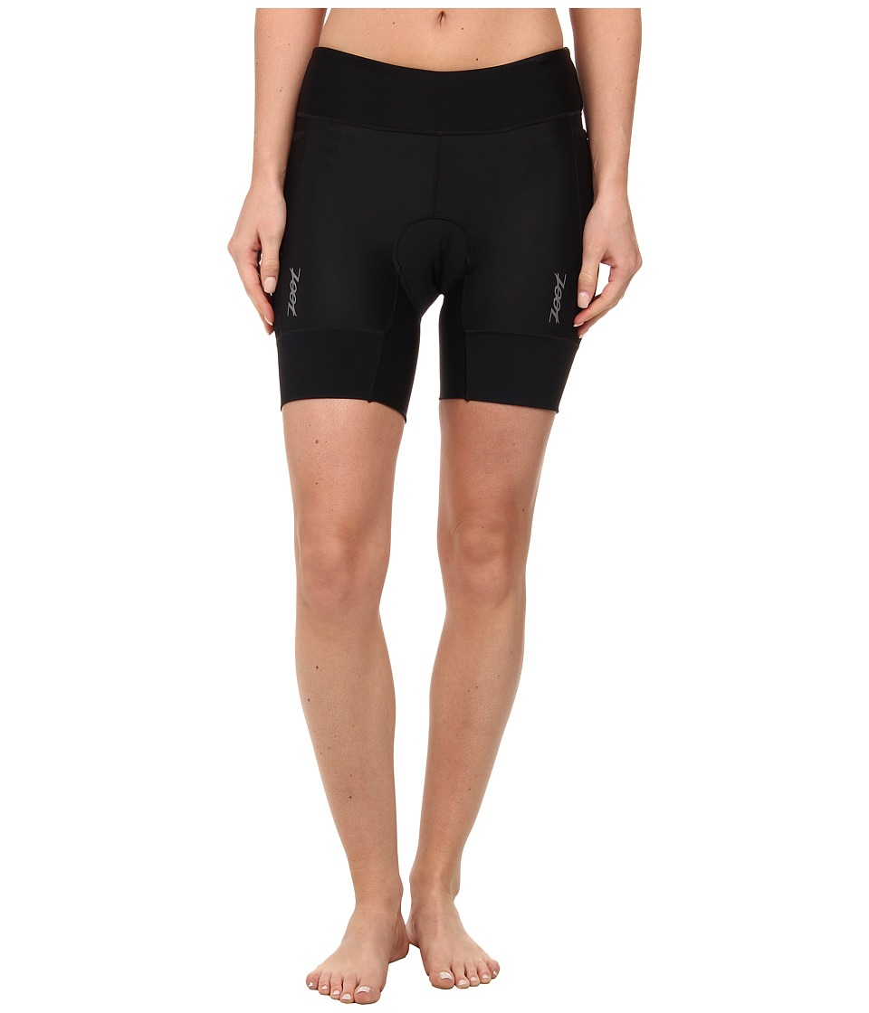 Zoot Sports - W Performance TT 6 Short (Black/Black) Women's Shorts