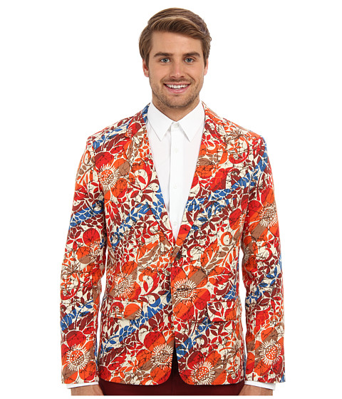 Mr.Turk - Cracked Floral Melvin Blazer (Multi) Men