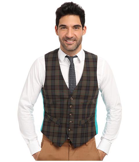 Mr.Turk - Irving Vest in Olive (Olive) Men