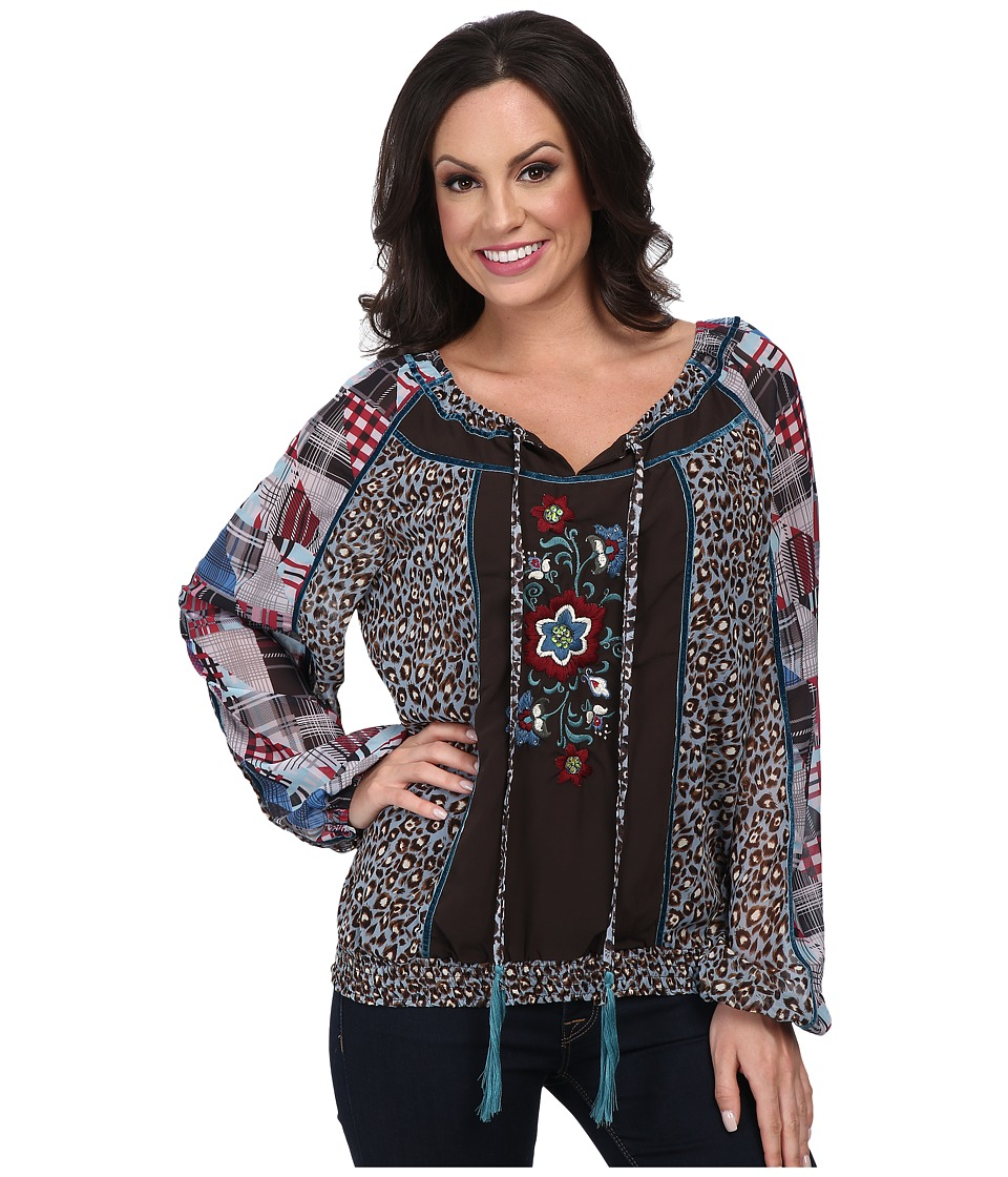 Double D Ranchwear - Jesse Blouse (Multi) Women's Blouse