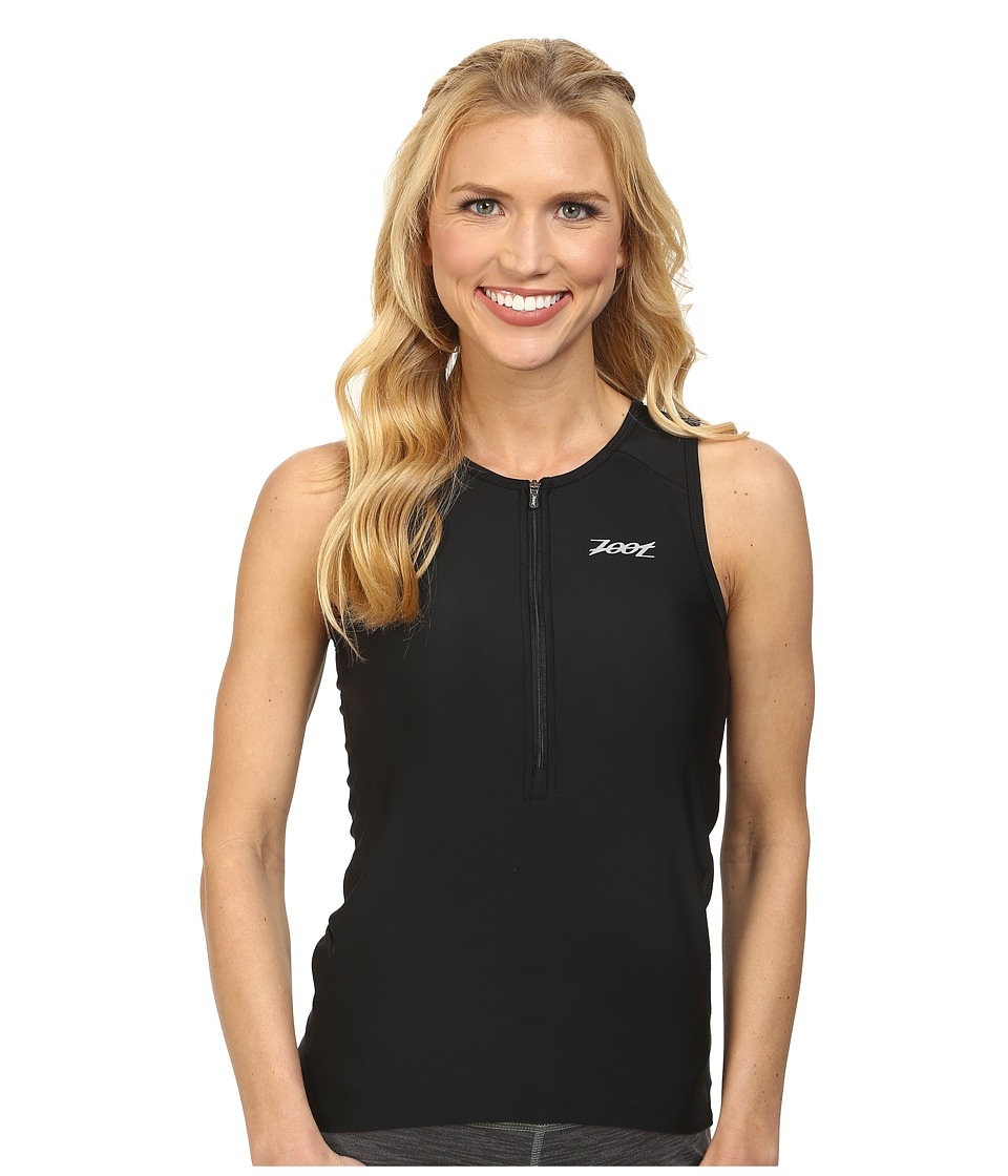 Zoot Sports - Active Tri Mesh Tank (Black) Women's Clothing
