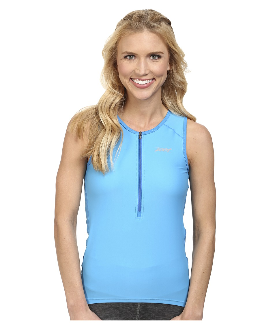 Zoot Sports - Active Tri Mesh Tank (Maliblue) Women's Clothing