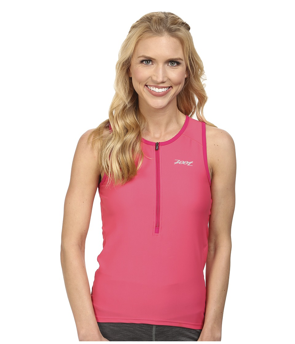 Zoot Sports - Active Tri Mesh Tank (Pink Grapefruit) Women's Clothing