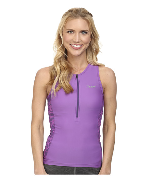 Zoot Sports - PERFORMANCE Tri Tank (Purple Haze Static) Women