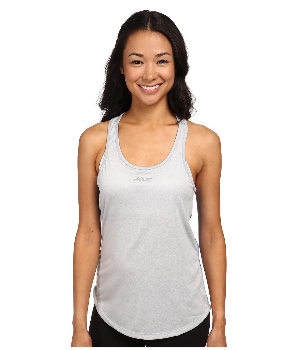 Zoot Sports - Run Sunset Tank (Silver Strand Heather/Pacific) Women's Sleeveless