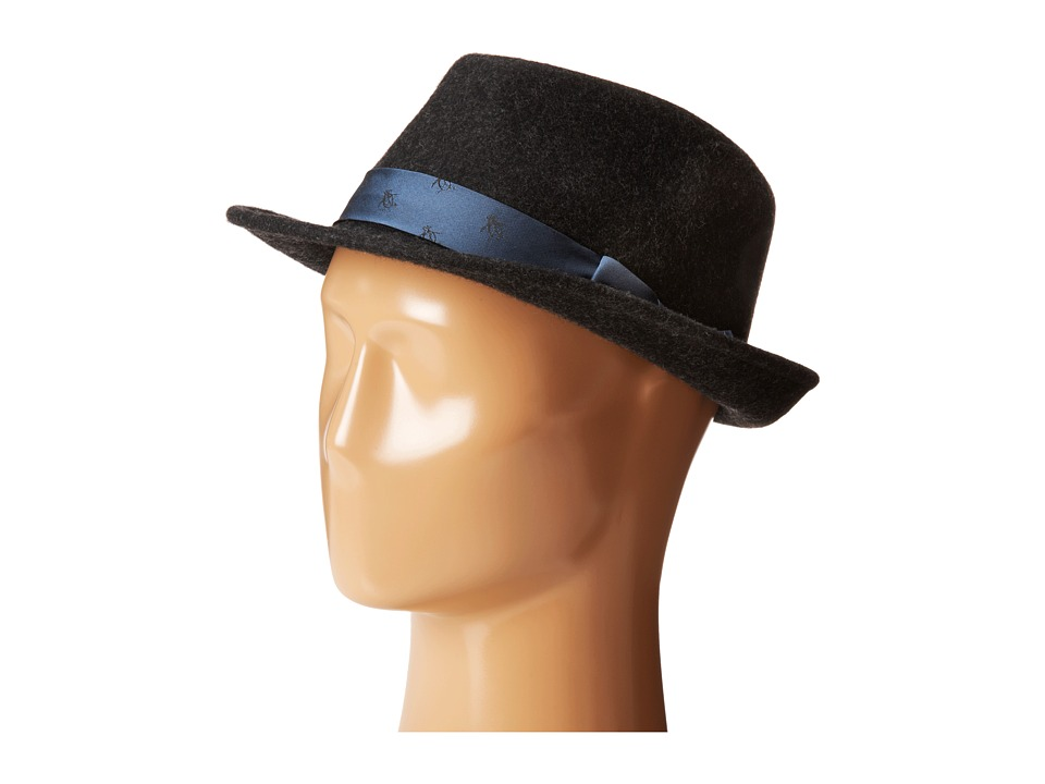 Original Penguin - Paul (Black) Fedora Hats
