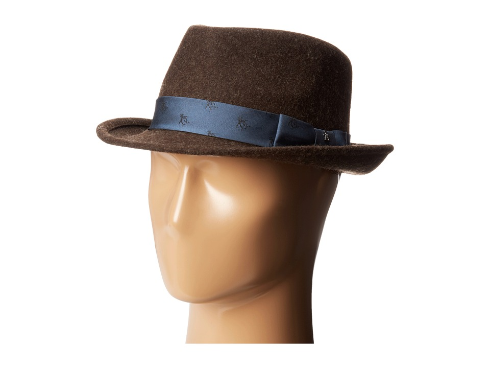 Original Penguin - Paul (Chocolate Torte) Fedora Hats