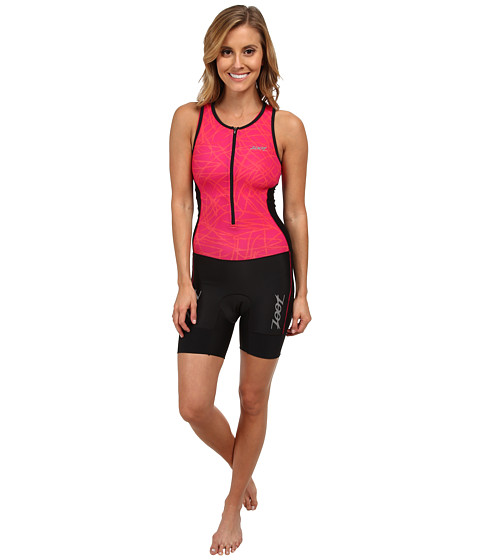 Zoot Sports - W Performance Tri Racesuit (Pink Grapefruit Static) Women's Race Suits One Piece