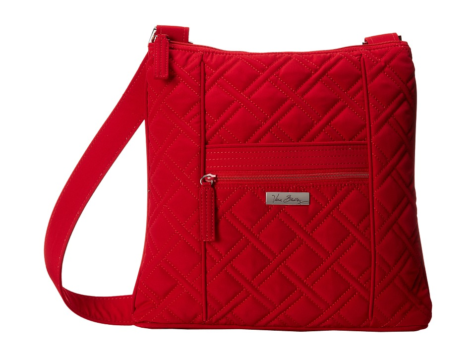 Vera Bradley - Hipster (Tango Red) Cross Body Handbags