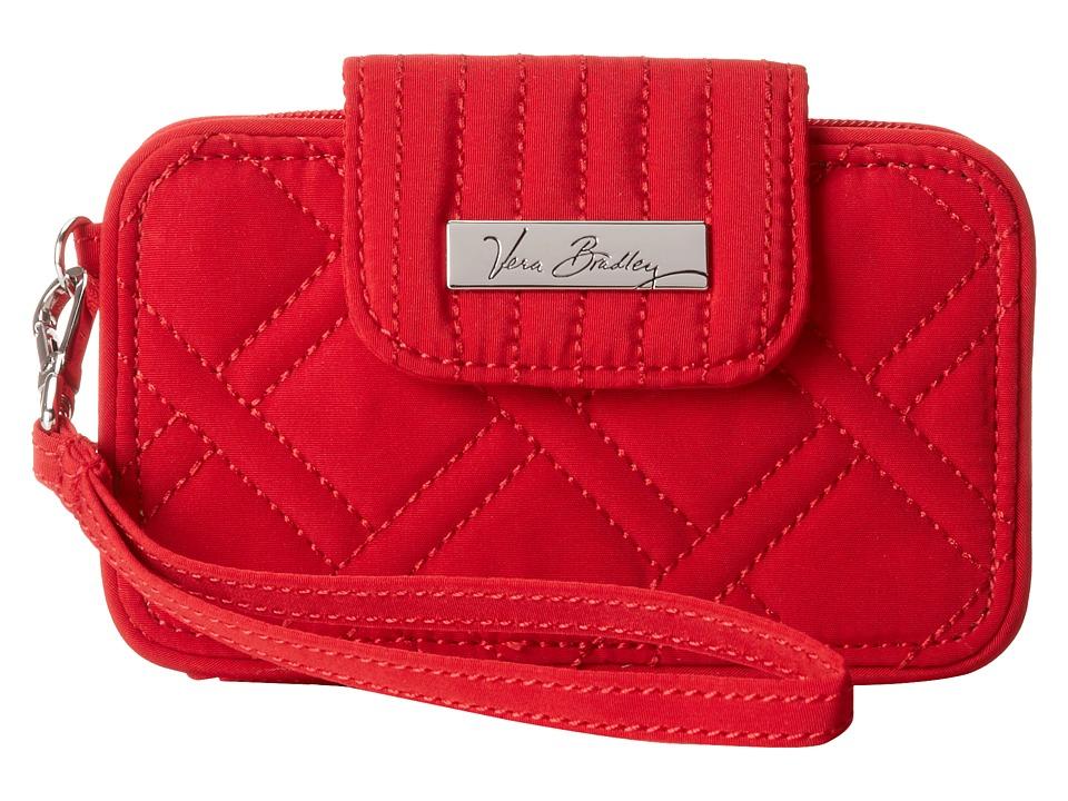 Vera Bradley - Smartphone Wristlet 2.0 (Tango Red) Wristlet Handbags