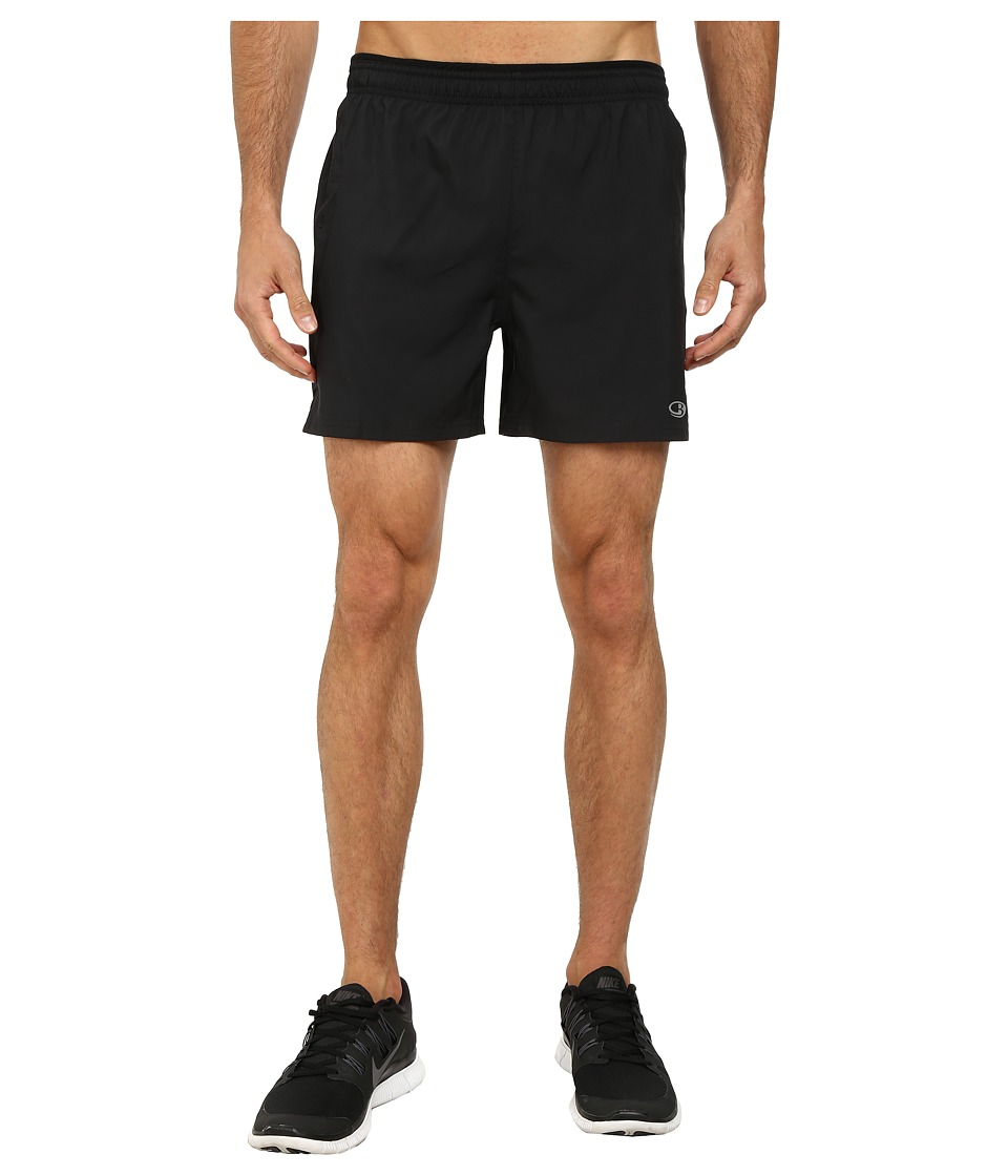 Icebreaker - Strike 5inch Shorts (Black) Men's Shorts