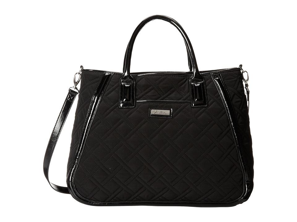 Vera Bradley - Trapeze Tote (Classic Black w/ Black Trim) Tote Handbags