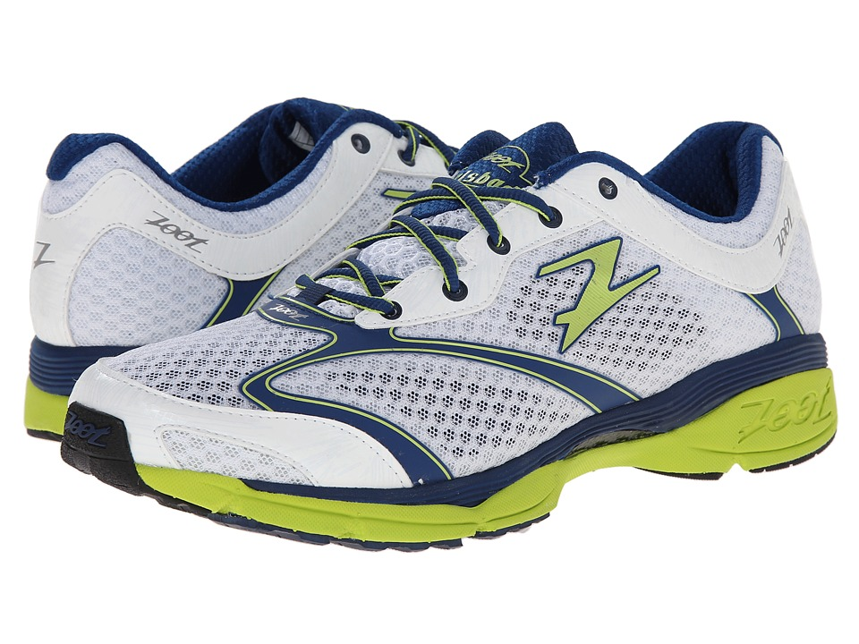 Zoot Sports - Carlsbad (White/Navy/Spring Green) Men's Running Shoes