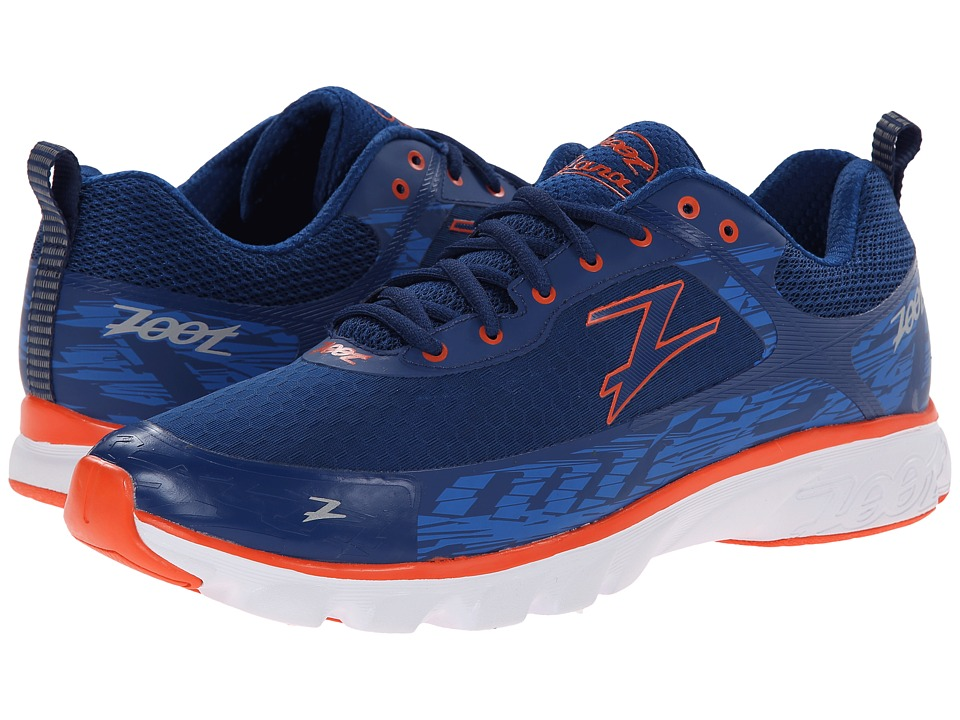 Zoot Sports - Solana (Navy/Zoot Blue/Flame) Men's Running Shoes
