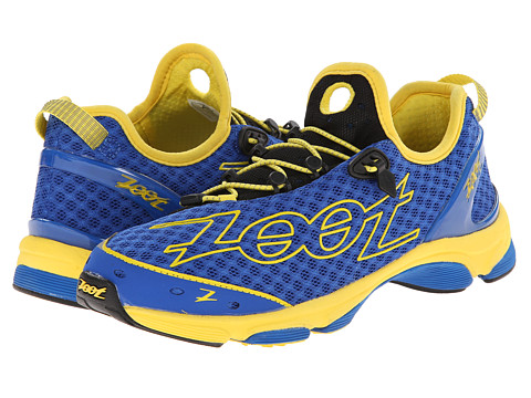 Zoot Sports - TT 7.0 (Zoot Blue/Sub Atomic Yellow) Men's Running Shoes