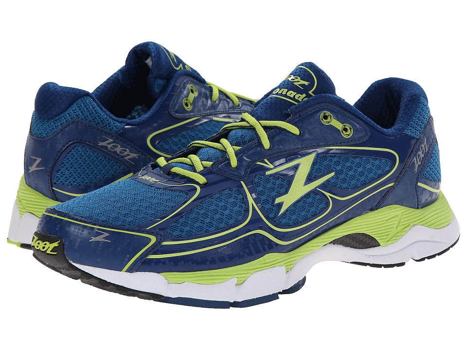 Zoot Sports - Coronado (Blutonium/Spring Green/Navy) Men's Running Shoes