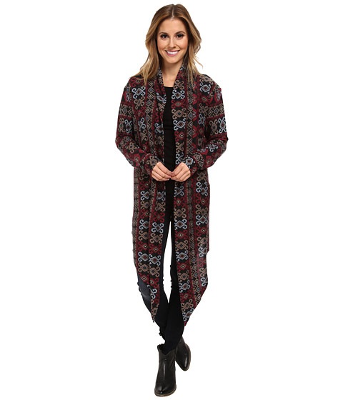 Double D Ranchwear - Samira's Rug Shawl/Cardigan (Multi) Women's Sweater