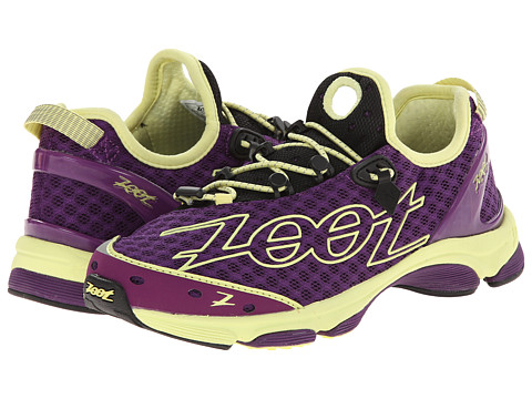 Zoot Sports - TT 7.0 (Deep Purple/Spring Green) Women's Running Shoes