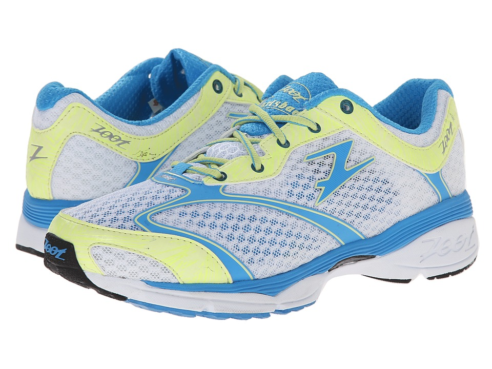 Zoot Sports - Carlsbad (White/Maliblue/Honey Dew) Women's Running Shoes