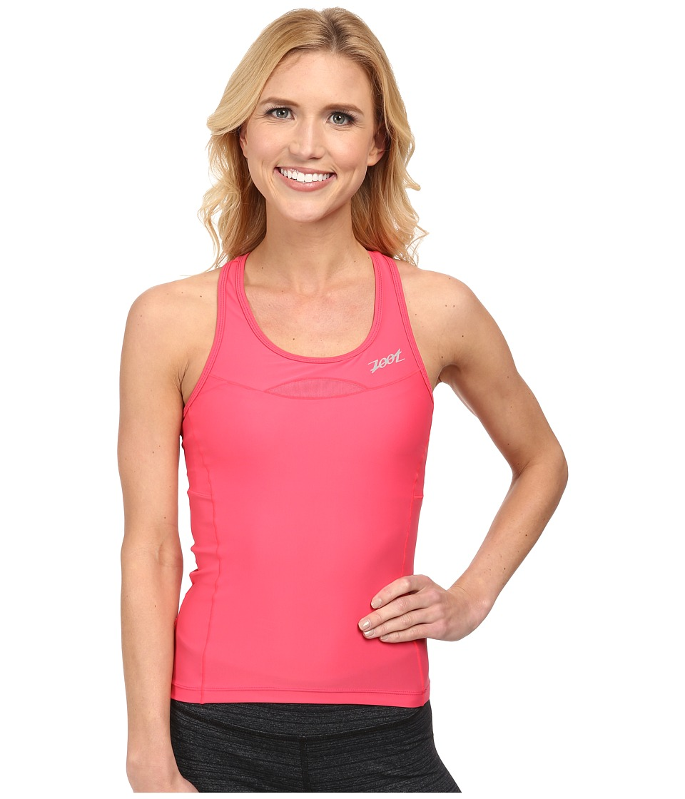 Zoot Sports - Performance Tri Racerback (Pink Grapefruit) Women's Sleeveless