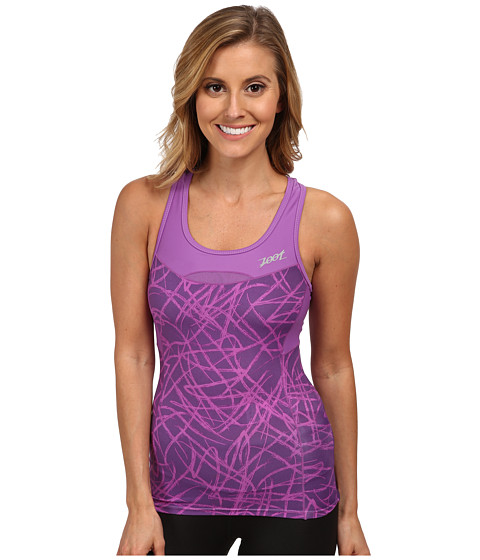 Zoot Sports - Performance Tri Racerback (Purple Haze Static) Women's Sleeveless