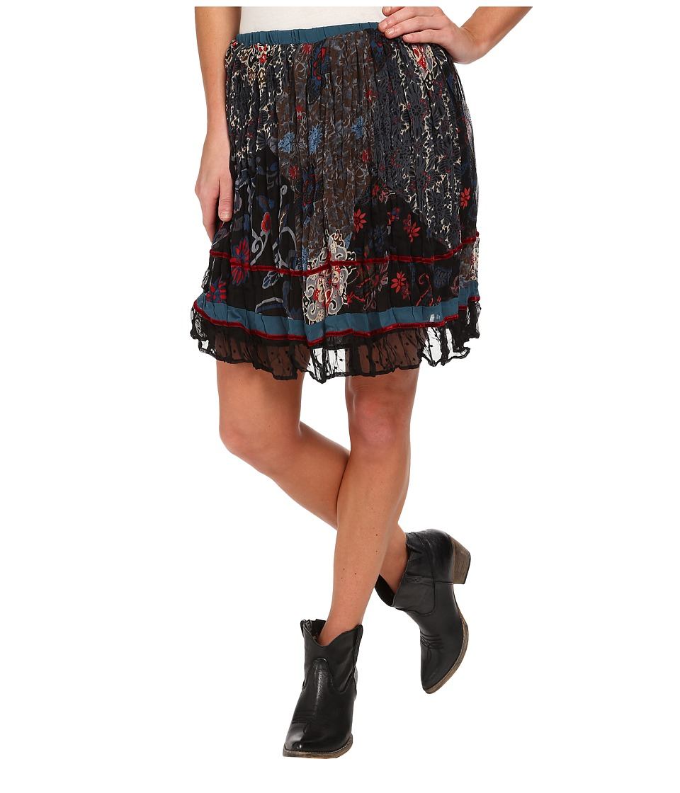 Double D Ranchwear - Jypsy Short Skirt (Multi) Women's Skirt
