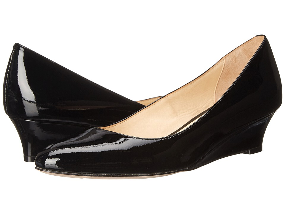 Cole Haan - Bethany Wedge 40 (Black Patent) Women