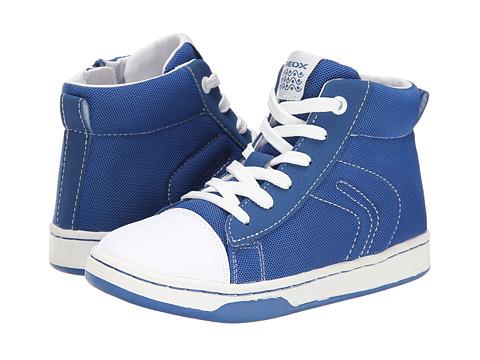 Geox Kids - Jr Maltin Boy 11 (Little Kid/Big Kid) (Royal/White) Boys Shoes