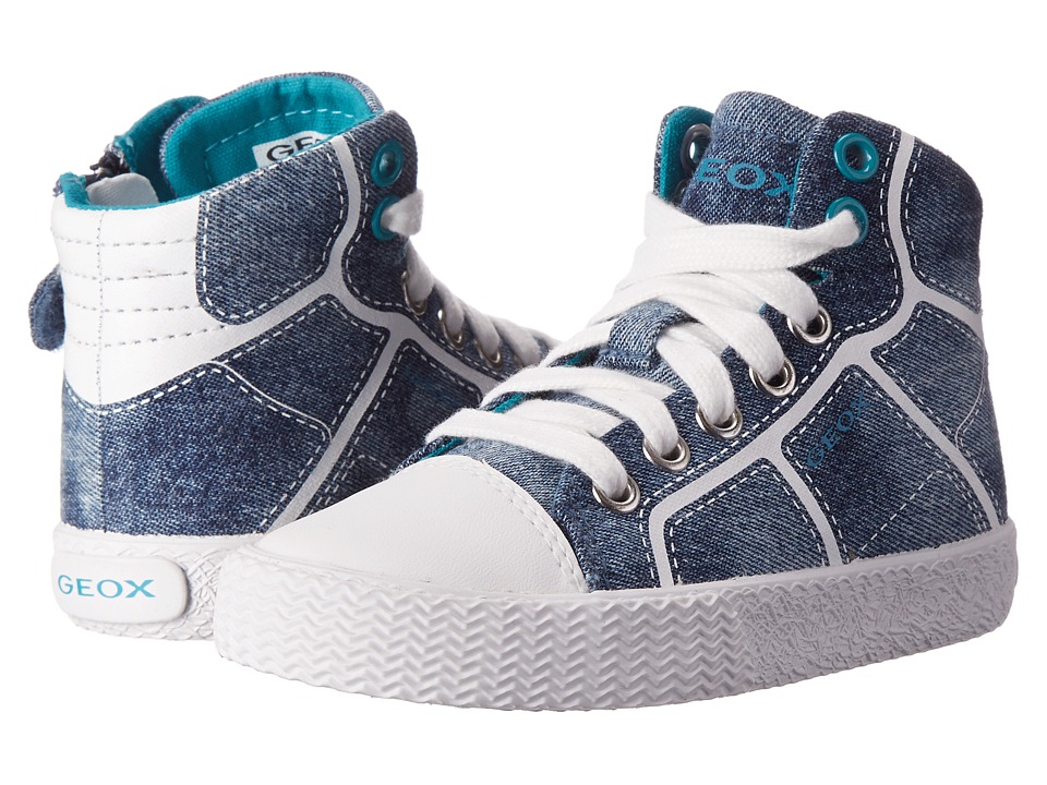 Geox Kids - Jr Smart Boy 11 (Toddler/Little Kid) (Dark Jeans) Boys Shoes