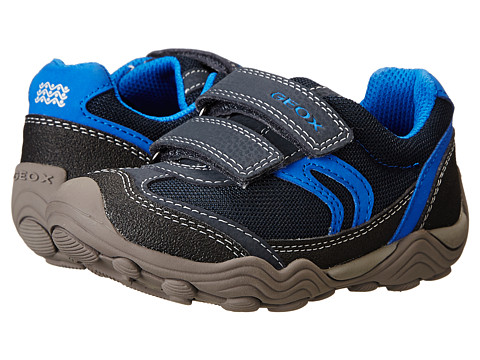Geox Kids - Jr Arno Boy 10 (Toddler/Little Kid) (Navy/Royal) Boy