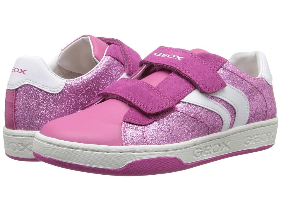 Geox Kids - Jr Maltin Girl 6 (Big Kid) (Fuchsia) Girls Shoes