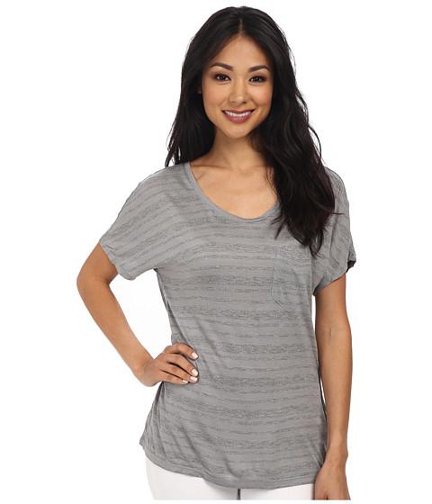 Calvin Klein Jeans - S/S Dolman Pocket Tee (Summit) Women's Short Sleeve Pullover
