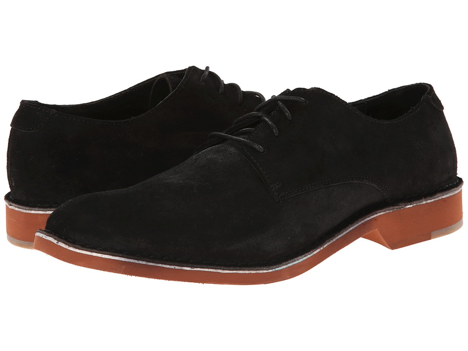 Fitzwell - Plano (Black Suede) Men