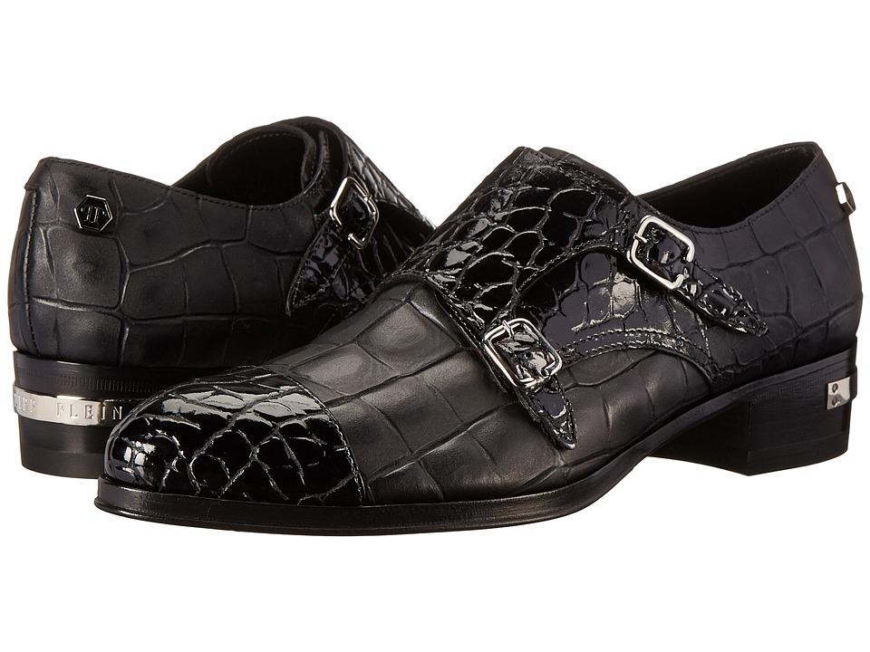 Philipp Plein - Super Pop Shoes (Black) Women's Monkstrap Shoes