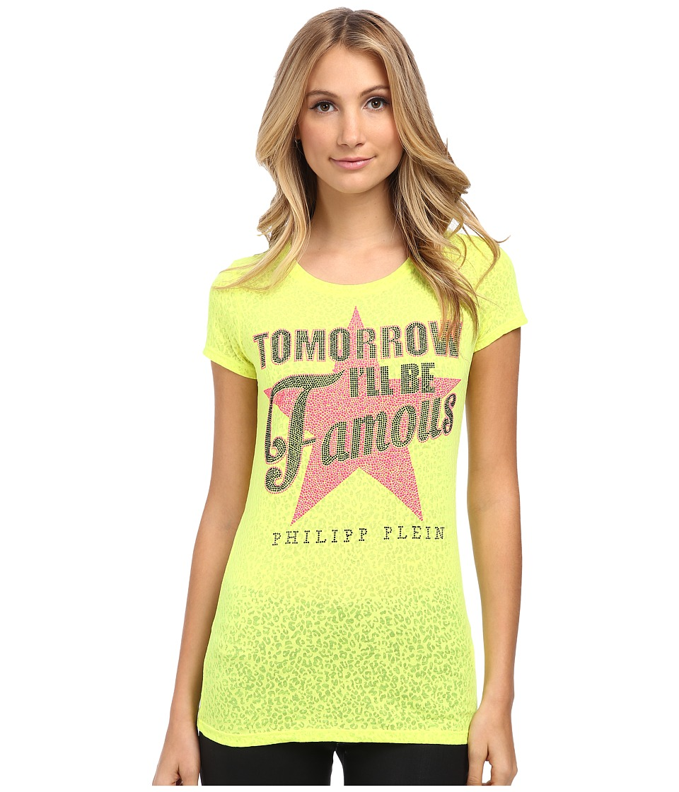 Philipp Plein - Be Famous T-Shirt (Yellow) Women