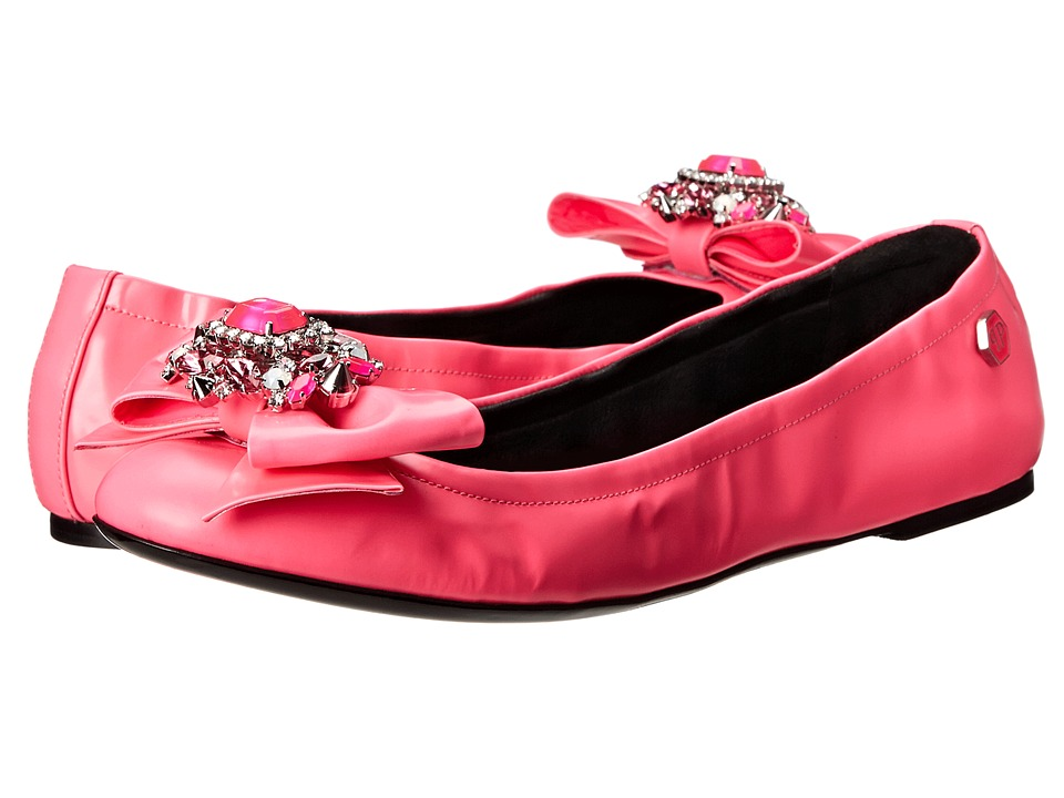 Philipp Plein - Princess Ballet Flat (Rose/Pink) Women's Flat Shoes