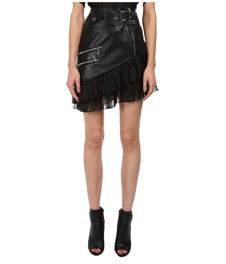 Philipp Plein - Jana Skirt (Black) Women's Skirt