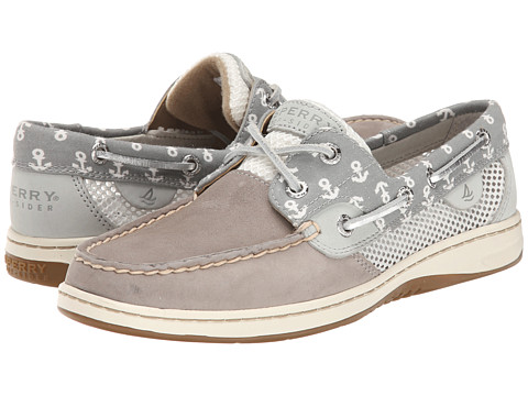 Sperry Top-Sider - Bluefish 2-Eye Critters (Charcoal (Anchor)) Women's Lace up casual Shoes