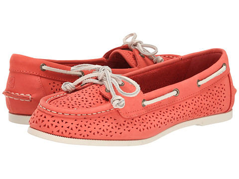 Sperry Top-Sider - Audrey Perfed (Coral) Women