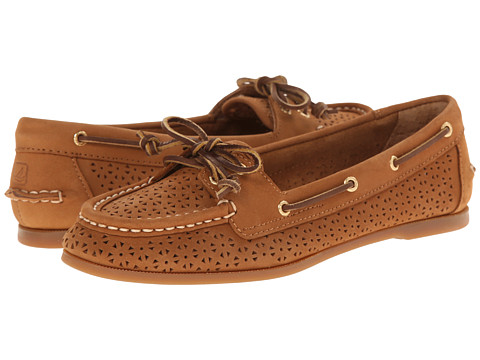 Sperry Top-Sider - Audrey Perfed (Cognac) Women's Lace up casual Shoes