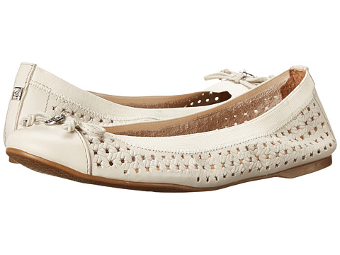 Sperry Top-Sider - Elise Embossed Rope (Ivory) Women's Slip on Shoes