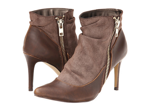 Michael Antonio - Josette Boot (Brown PU) Women's Boots