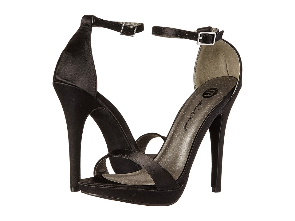 Michael Antonio - Lovina (Black Satin) High Heels