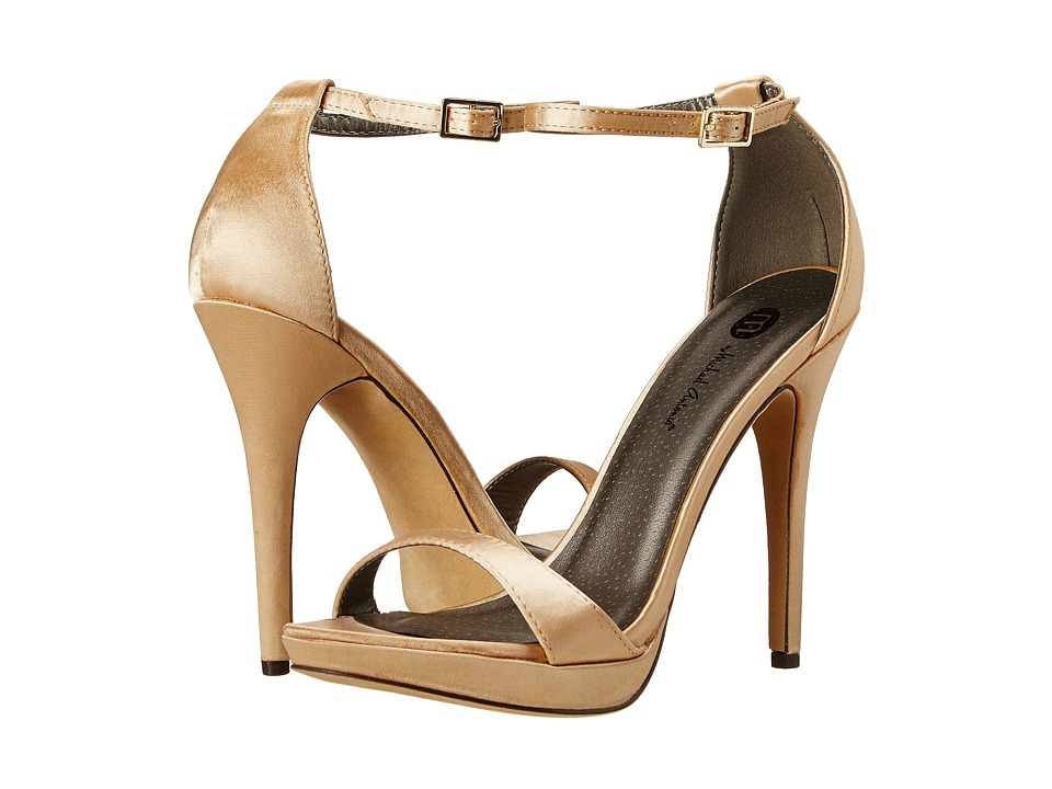 Michael Antonio - Lovina (Champagne Satin) High Heels