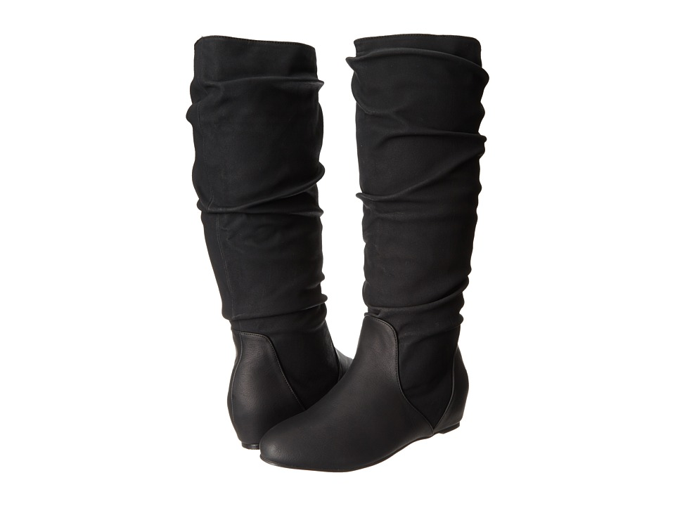 Michael Antonio - Nellie Boot (Black PU) Women's Pull-on Boots