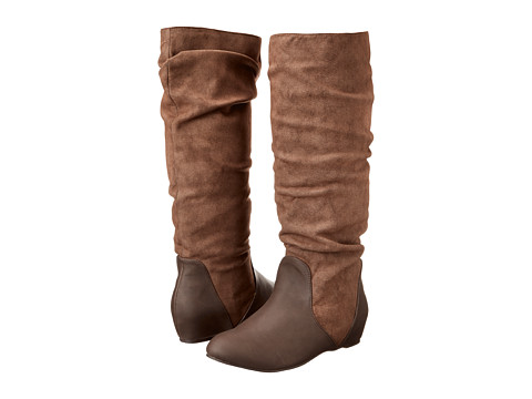 Michael Antonio - Nellie Boot (Brown PU) Women's Pull-on Boots