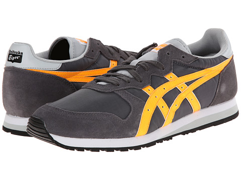 Onitsuka Tiger by Asics - OC Runner (Dark Grey/Orange Pop) Shoes